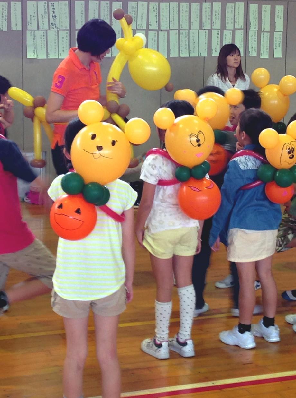 子ども向けのバルーン教室
